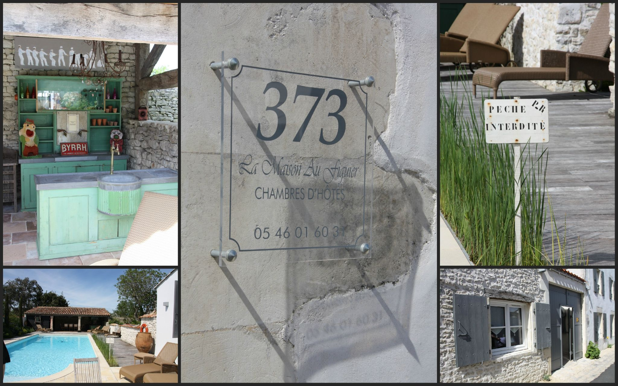 Chambre d 39 h te la maison au figuier a l 39 ile de - Chambre d hote les portes en re ...