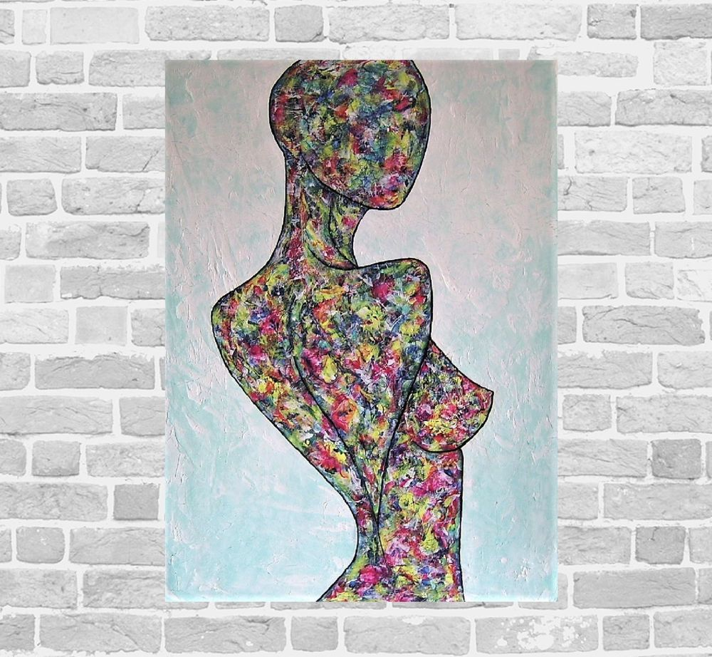 Kunstgalerie winkler abstrakte acrylbilder malerei for Acrylbilder ideen