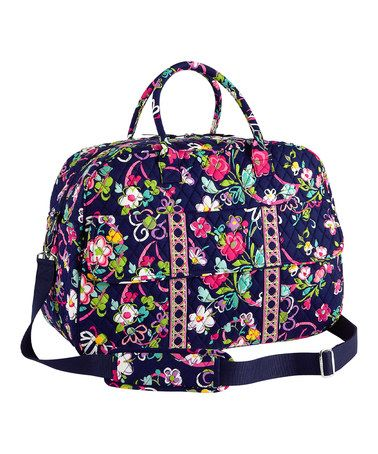 b5ccdfb8ede2 Another great find on  zulily! Ribbons Grand Traveler Bag by Vera ...
