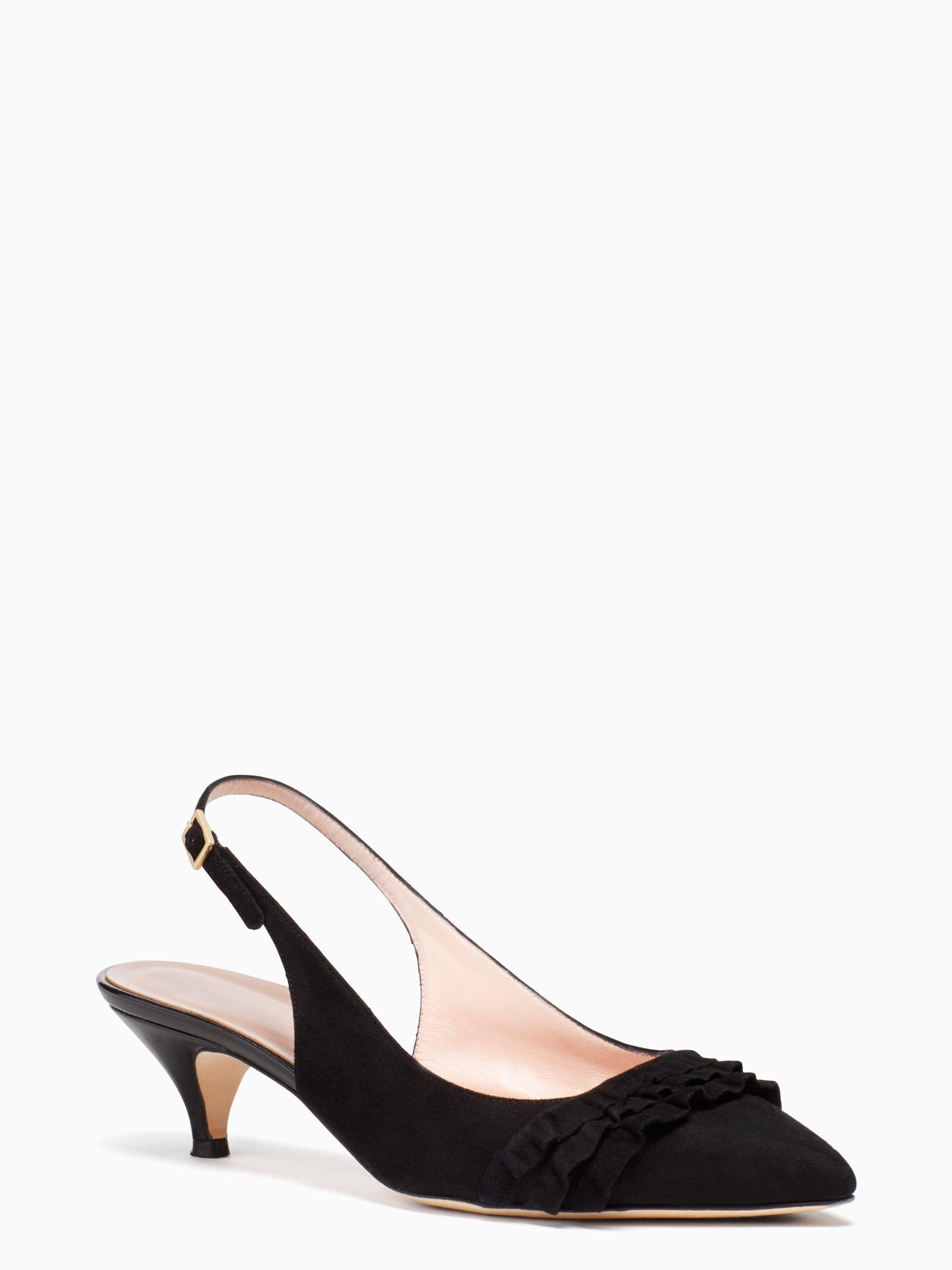 074fb6121dd1 KATE SPADE oliene heels.  katespade  shoes