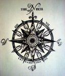 True North Compass Tattoo by ~DesertDahlia on deviantART