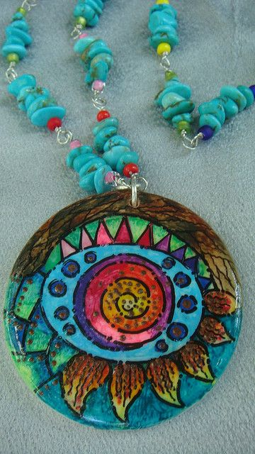 eye in the sky by polymerclaybeads, via Flickr