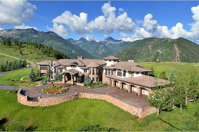 Wonderful ... A Jaw Dropping 200 Acres Of Property, This Mansion In The Mountains Of  Aspen Snowmass Offers Unbelievable Views Of The Incredible Mountains Of  Colorado.