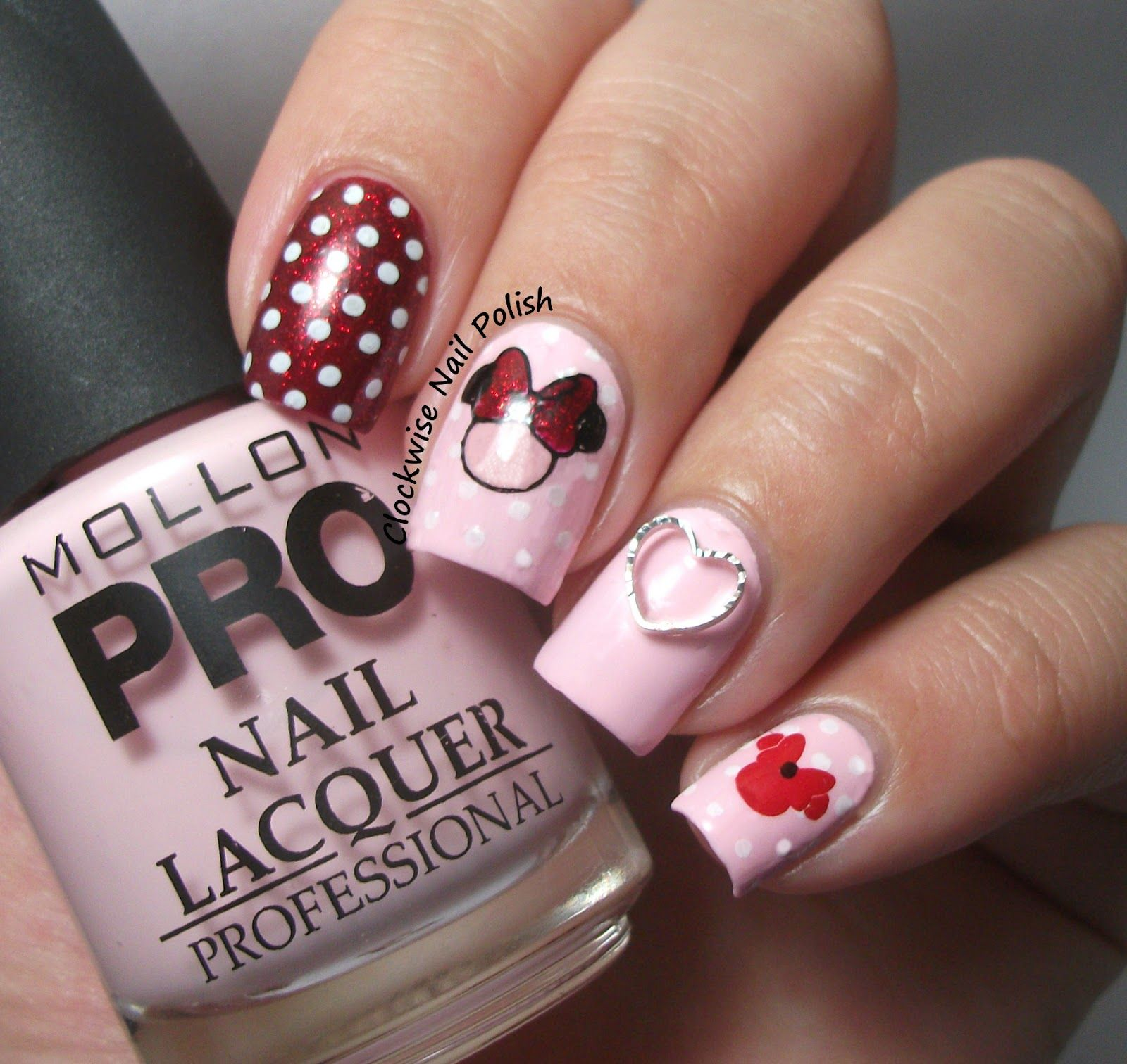 Mollon Pro 180 Amor Mini Nail Art Pinterest Amor Minis And