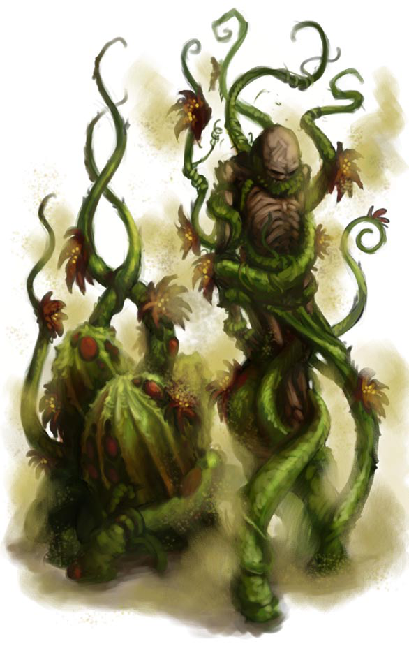 A Yellow Musk Creeper Creepers Creature Concept