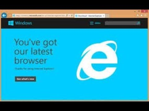 IE11 cannot be installed on Windows 8 only Windows 7 and ... on - You can  download Internet Explorer 11, but it won't run on your system.