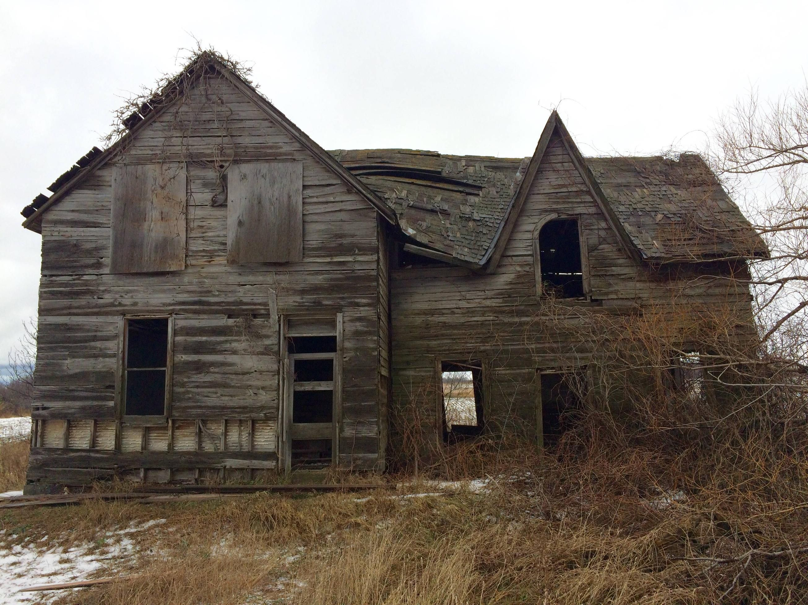 Abandoned House In Kincardine On Canada   Oc Album In