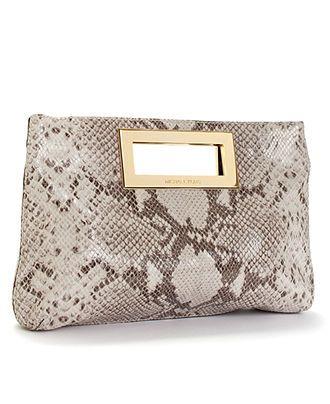 MICHAEL Michael Kors #clutch #handbag #snake #macys BUY NOW!