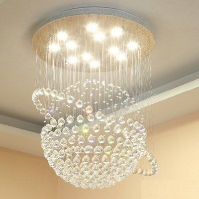Modern Creative Duplex Stairs Led Crystal Lamp 220v Sale Price Amp Reviews In 2020 Living Room