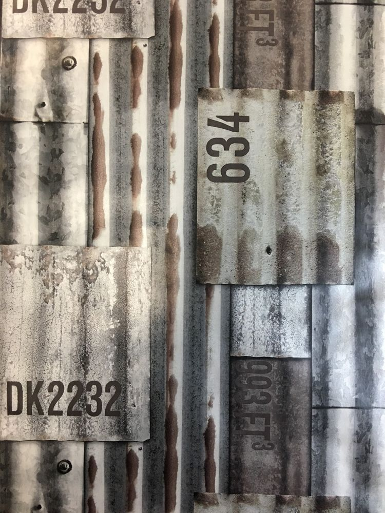 3d feature wallpaper metal sheet corrugated aluminum for 3d feature wallpaper