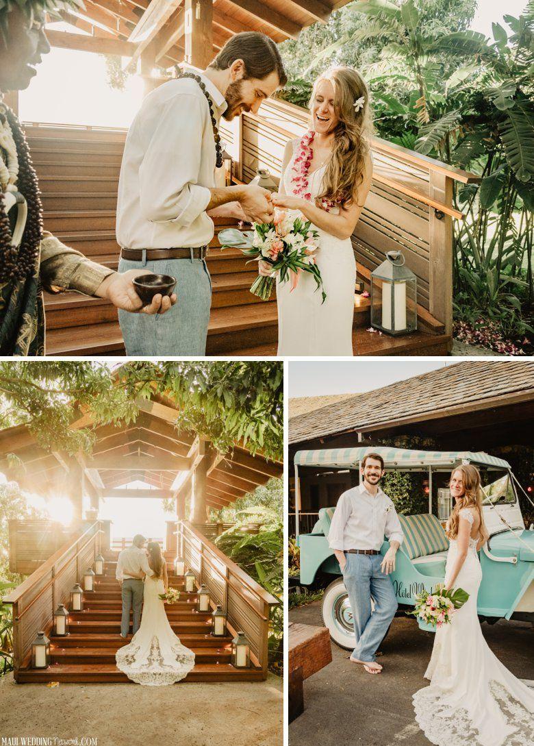 Hotel Wailea Treehouse Wedding Private Maui Wedding