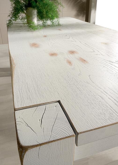 Tavolo in legno nella finitura vintage. Diverse misure disponibili ...