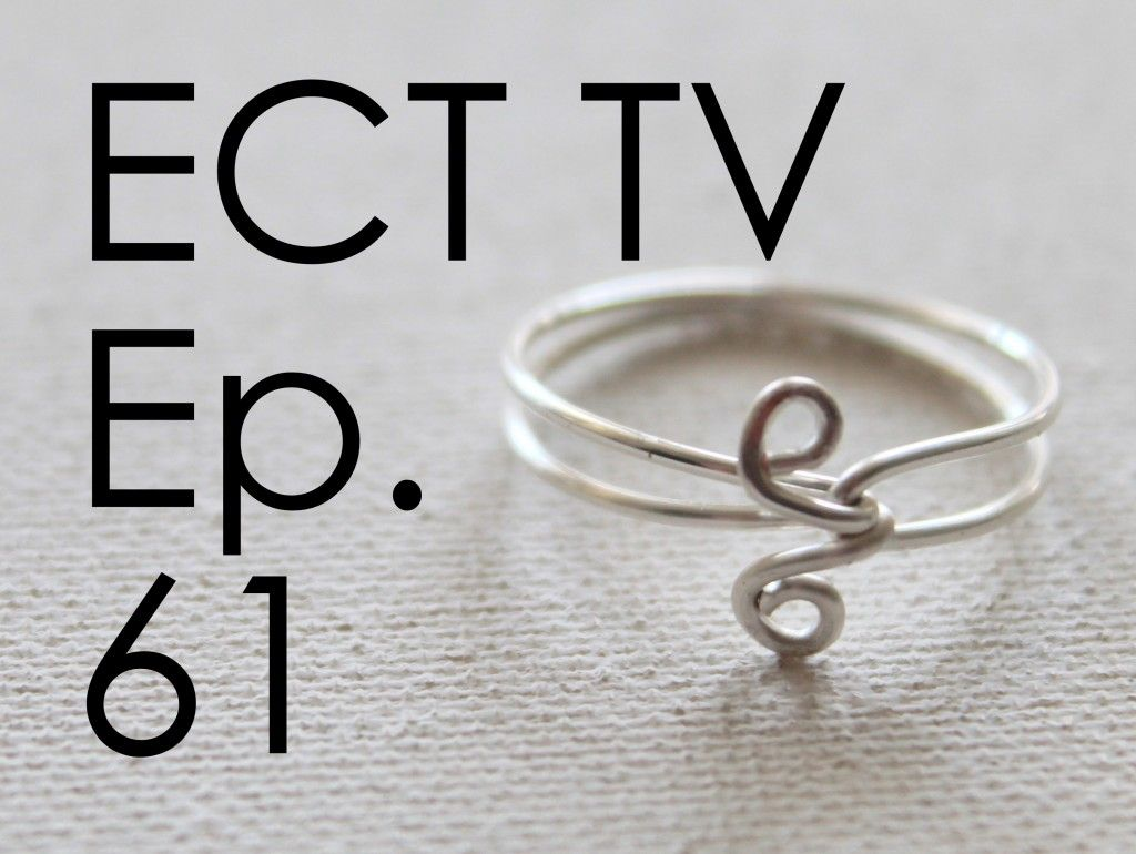 ECT TV Episode 61: Simple Wire Ring | idea pics | Pinterest | Wire ...