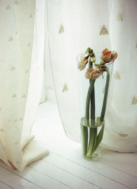 Mastro Raphael Il Lino Le Tende Api linen Curtain | Curtains ...