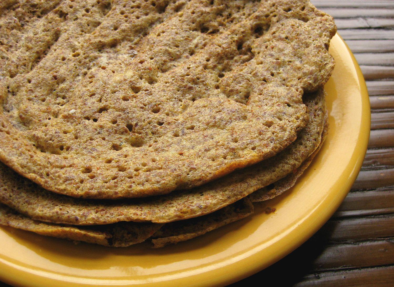 Easy flaxseed wrap glutenfree grain free bread food
