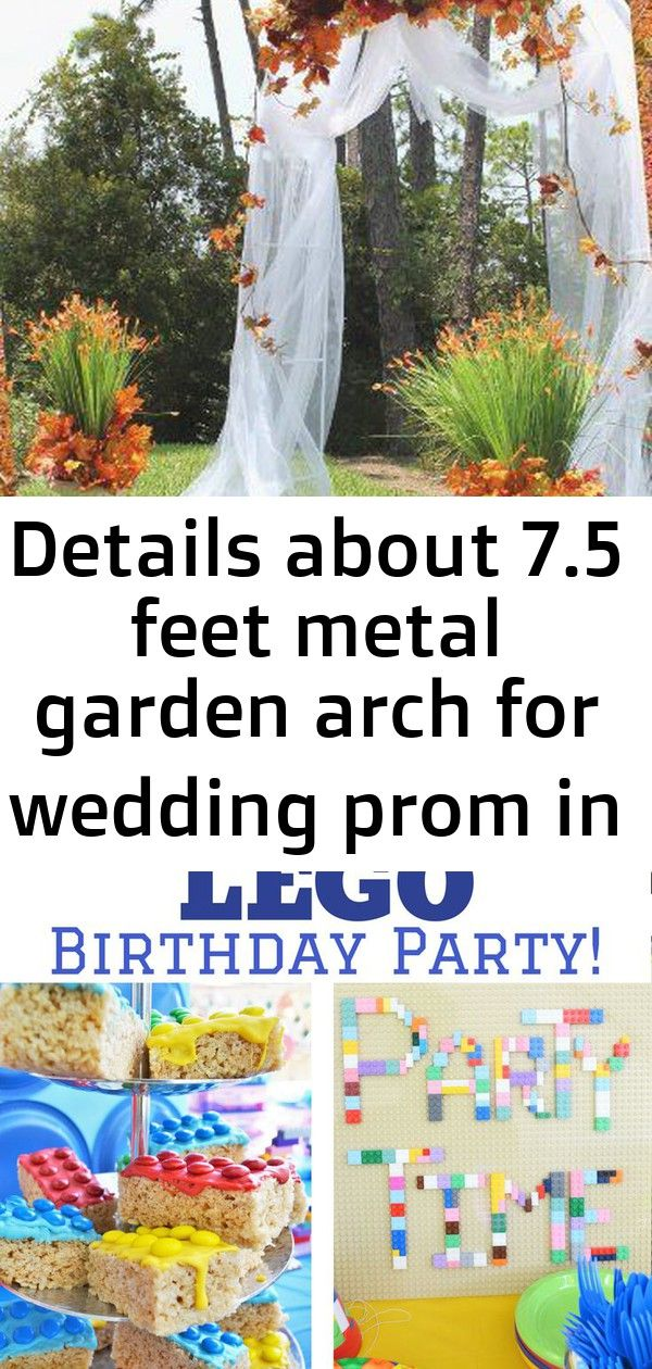 Details about 75 feet metal garden arch for wedding prom in  outdoor decorative 8 75 Feet Metal Garden Arch for Wedding Prom In Tea Party Ideas Are you a professional fee...