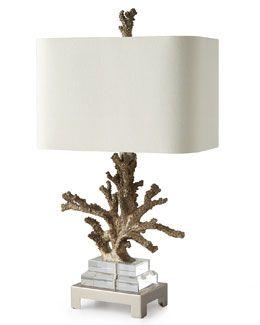 H7CXE Poseidon Coral Table Lamp