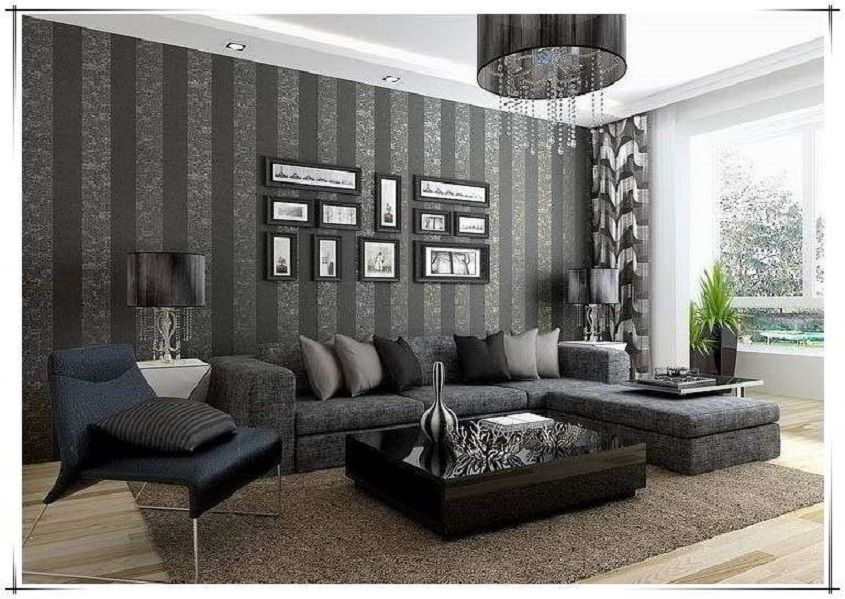 Penggunaan Wallpaper Dinding Canapes