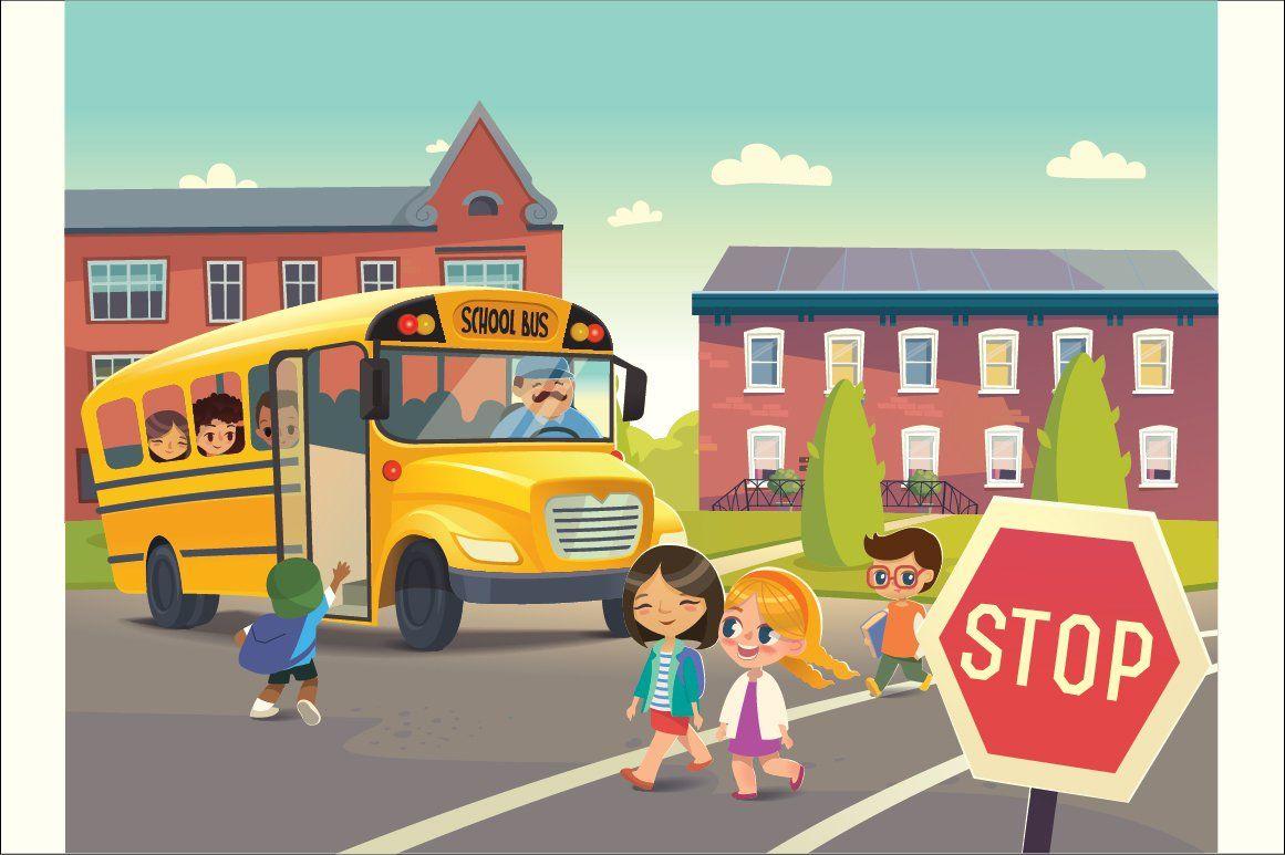 School Bus Stop School Safety School Bus Bus