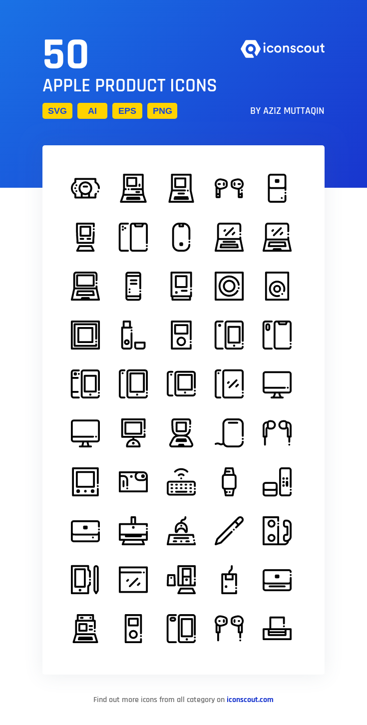 Download Apple Product Icon pack Available in SVG, PNG