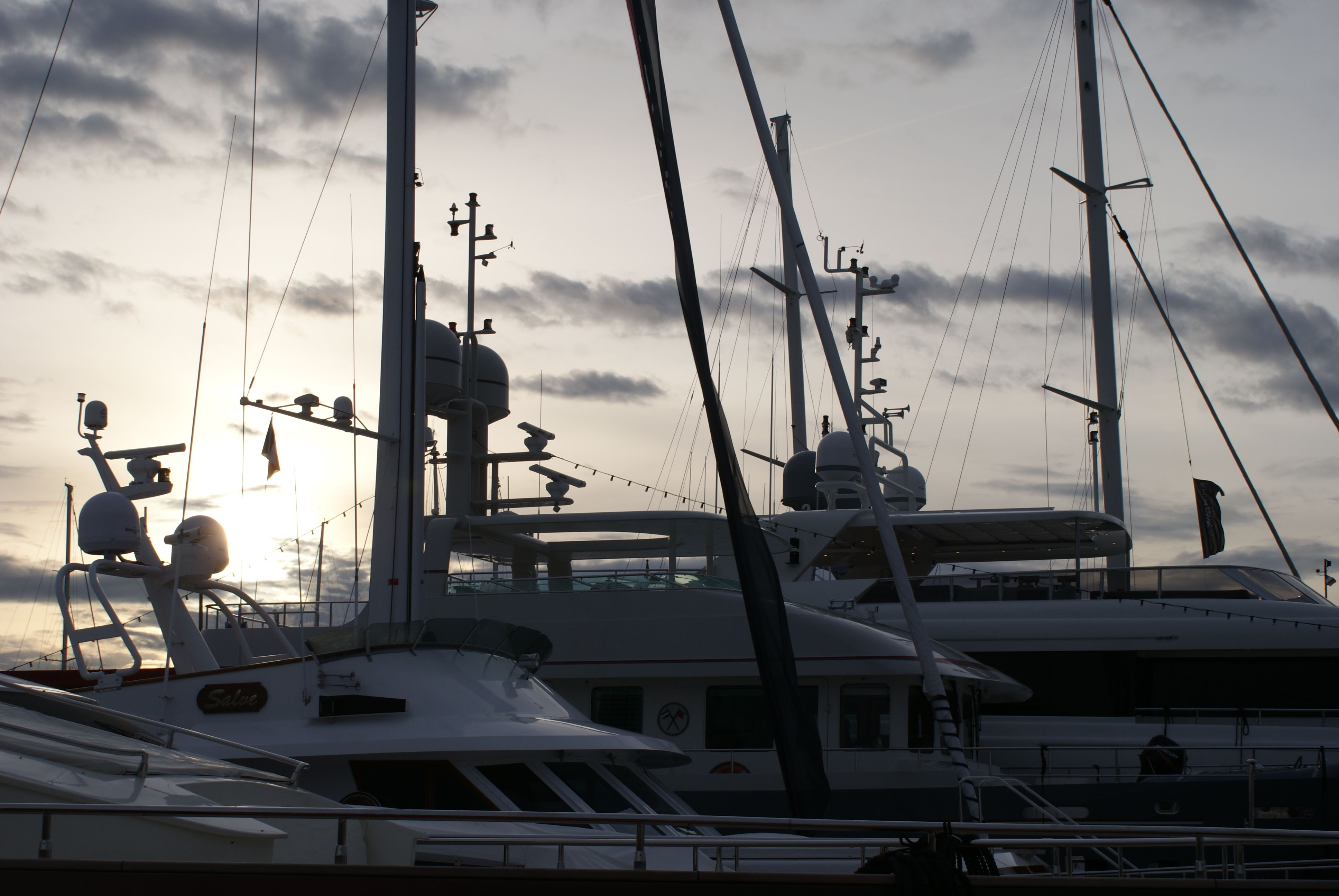 Superyachts - Friday 13th closure