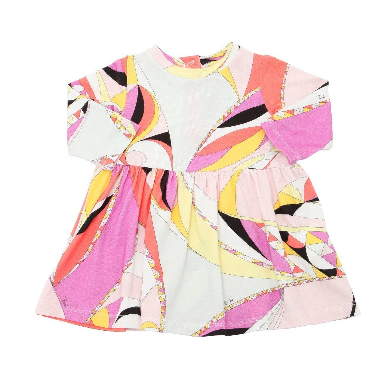 40199764fe32 Emilio Pucci Baby Girls Colorful Printed Flared Dress