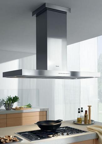 Miele high output adjustable vent hood la mesa for Modern kitchen vent