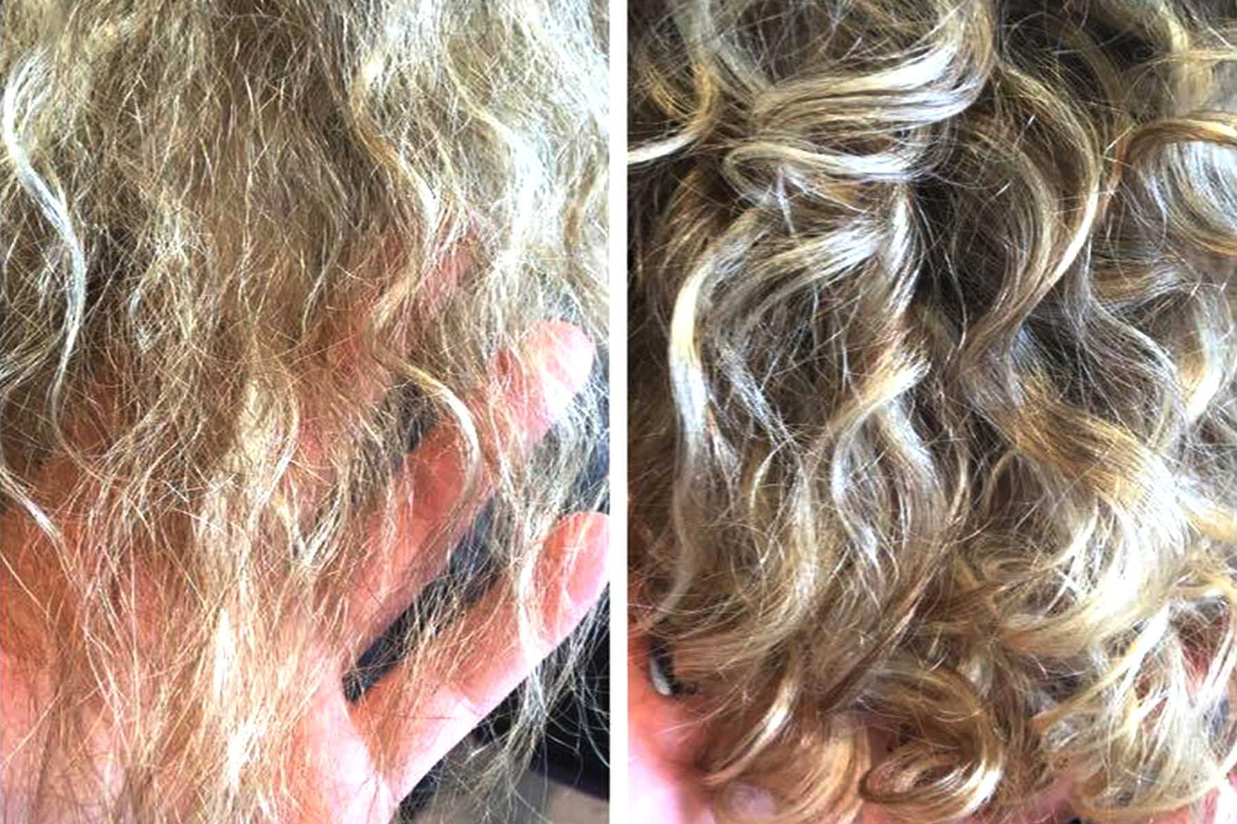 Do Perms Damage Hair Perm Damaged Hair Long Hair Waves Types Of Perms