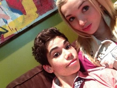 Cameron Boyce Es Peyton List We Heart It With Images Cameron Boyce Peyton List