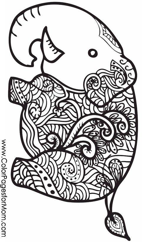 animal coloring page 26 графика Pinterest Animal, Free - new advanced coloring pages pinterest