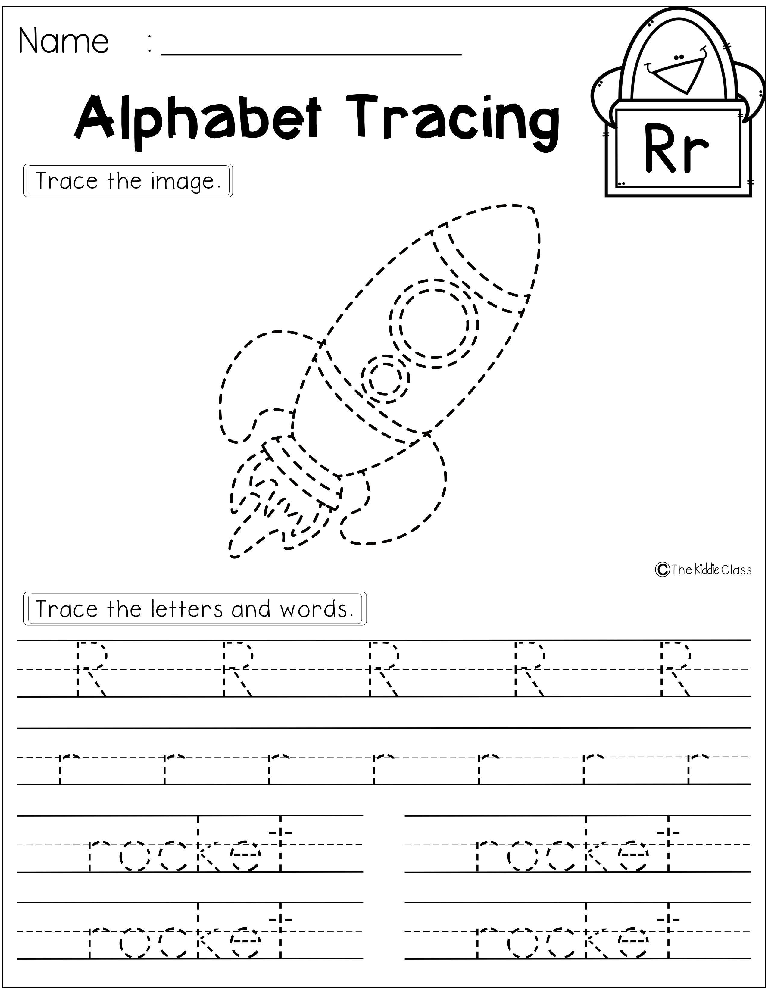Free Alphabet Tracing Activities