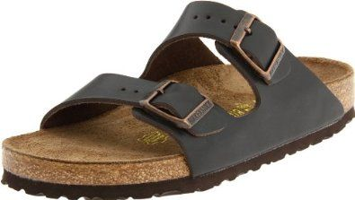 awesome Birkenstock Unisex Arizona Sandal,Dark Brown M EU