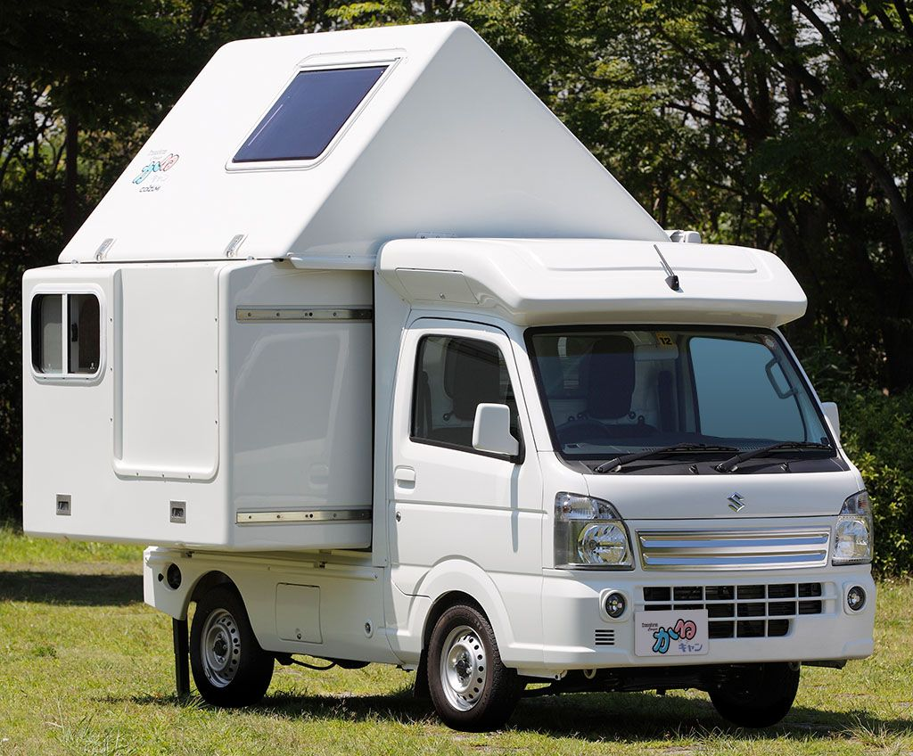 honda n truck plus other whacky stuff from japan camping car show stuff i like pinterest. Black Bedroom Furniture Sets. Home Design Ideas