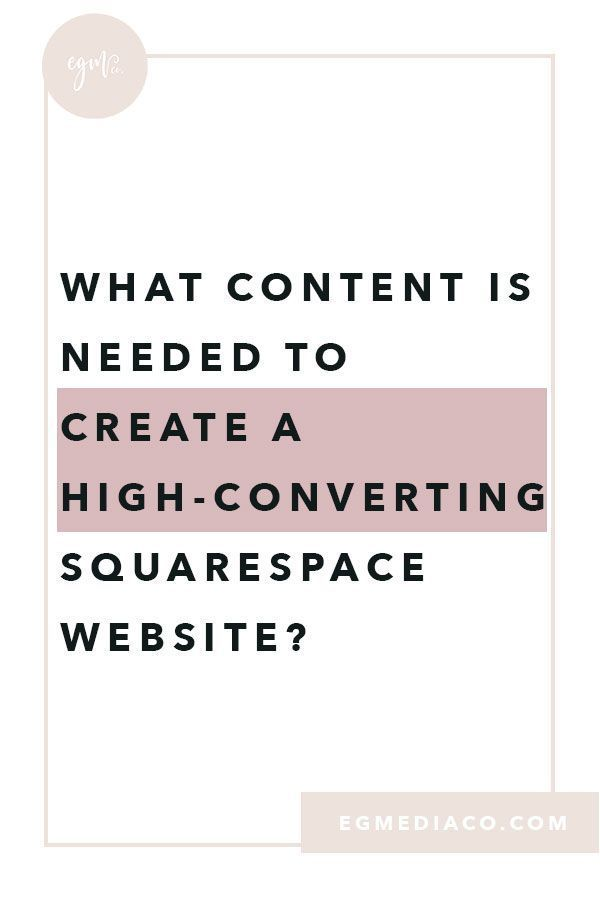 What content is needed to create a highconverting Squarespace website  is part of Squarespace website, Small business website design, Squarespace website design, Squarespace tutorial, Web design tips, Squarespace - We all know that creating your own website is no easy task  There is a lot that goes into it from the right photos, the copywrite, and making sure your website is overall cohesive  For those that are attempting at creating your own website through Squarespace, this is for you! I want to start from