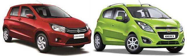 Beat Vs Celerio Comparison Beats Chevrolet Comparison