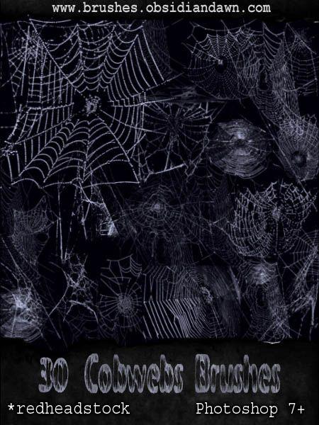 GIMP Cobwebs Brushes by Project-GimpBC   gimp inkscape