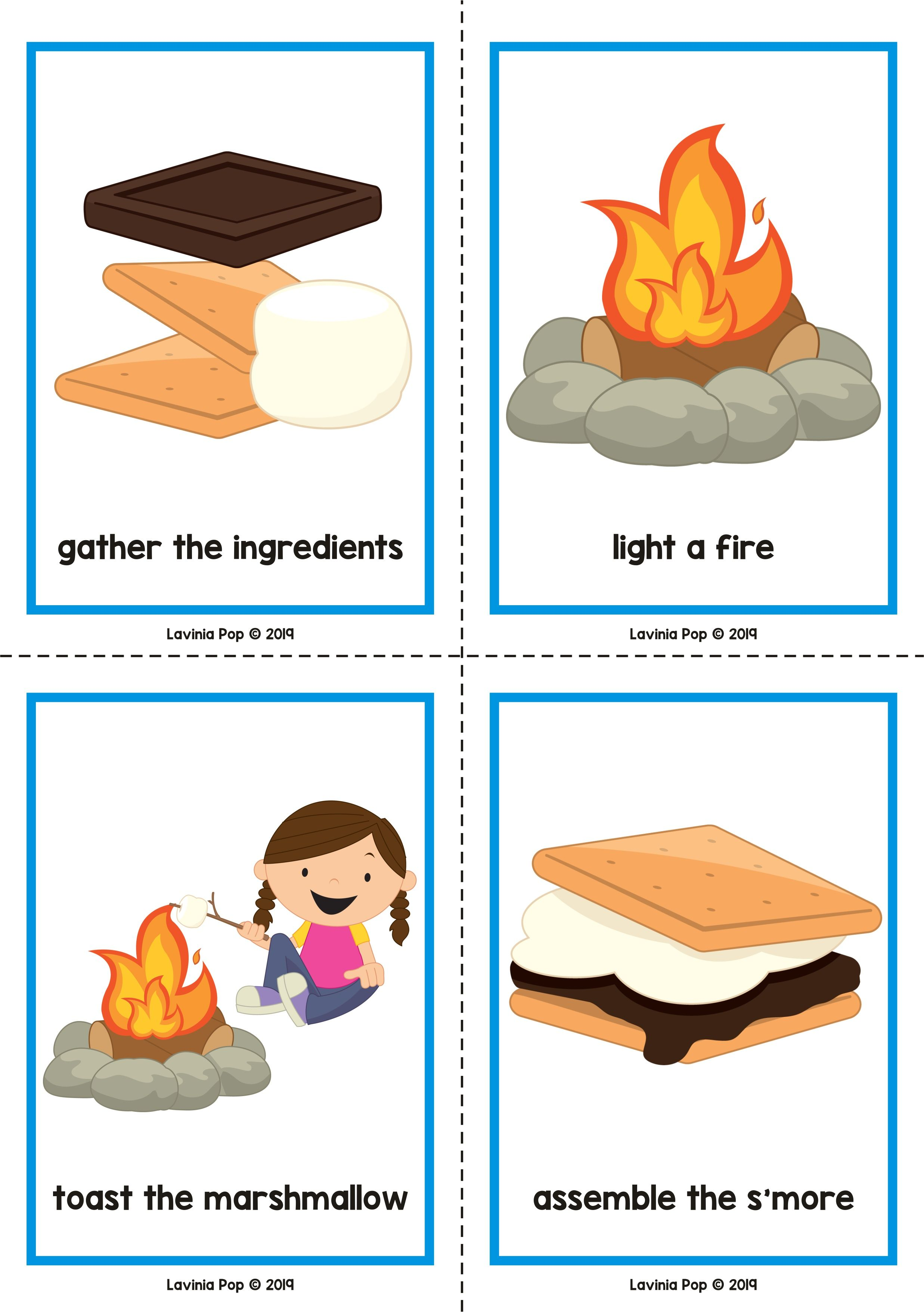 Camping Preschool Centers By Lavinia Pop How To Make A S