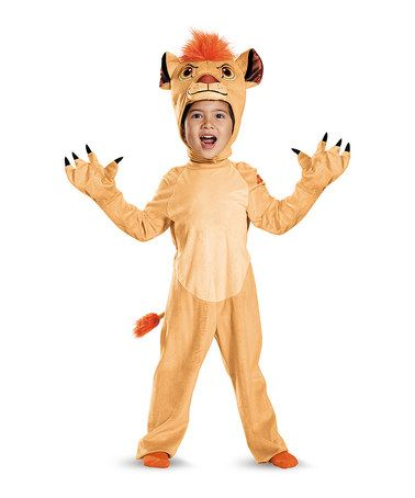 Look what I found on #zulily! Kion Deluxe Costume Set - Toddler - halloween costume ideas 2016 kids