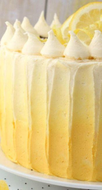 Miraculous The Best Lemon Poppy Seed Cake Recipe With Images Lemon Funny Birthday Cards Online Inifodamsfinfo