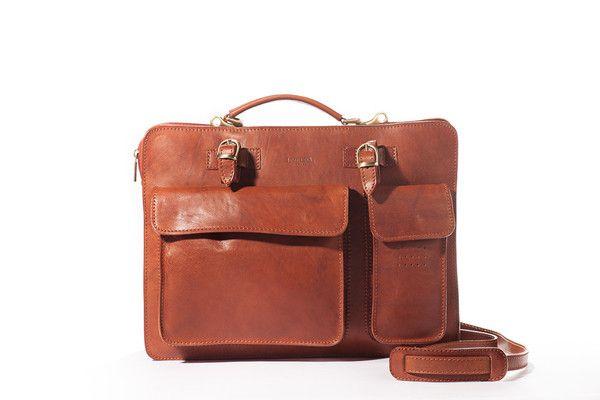 I Medici Leather Briefcase Messenger Bag 4700 Online At Pelleitalianleather