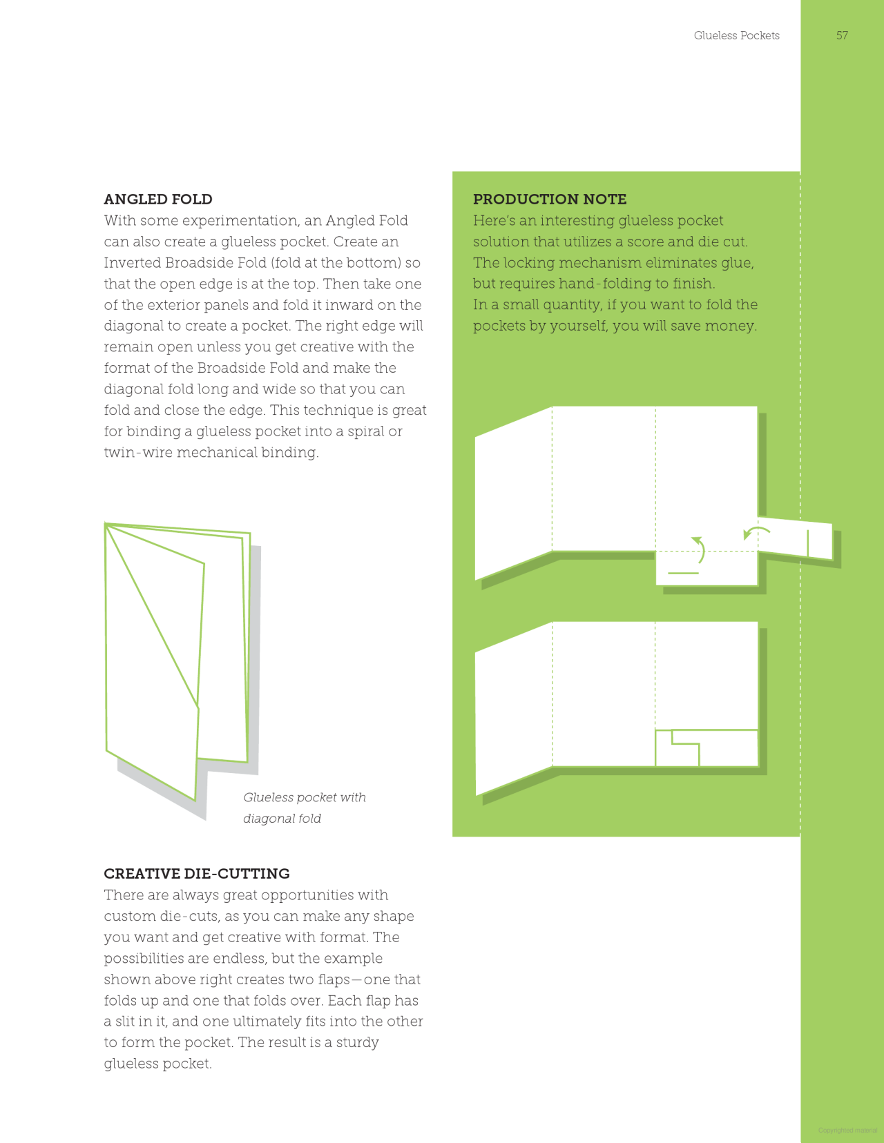 Paper Folding Templates For Print Design Print Page Layout