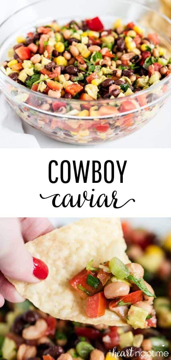EASY Cowboy Caviar Dip (15 minutes!) - I Heart Naptime