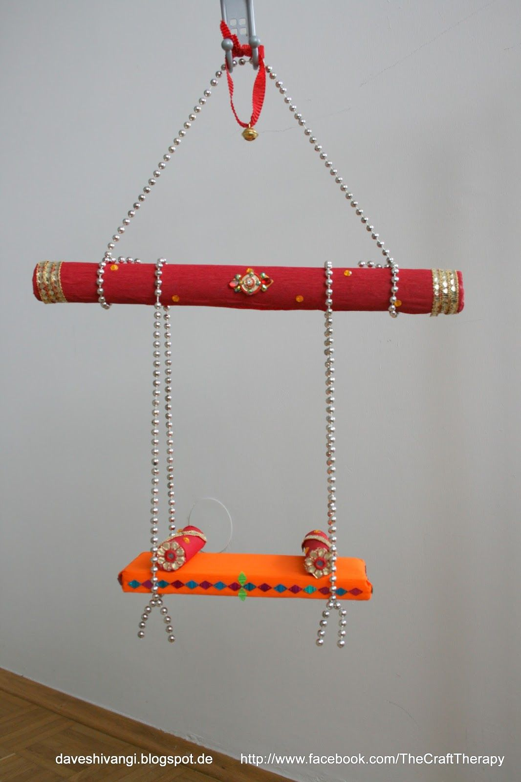 Card Making Ideas For Janmashtami Part - 48: How To Make A Jhoula DIY For Kids! | Gifts Packing | Pinterest | Craft,  Decoration And Indian Crafts