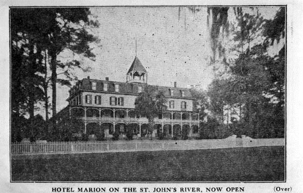 Hotel Marion On The St John S River Orange Park Florida