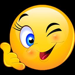 Call Me Wink Emoticon Funny Emoticons Emoticon Animated Emoticons