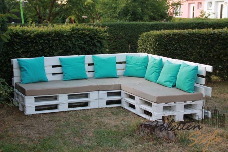 Desmondo Wohnblog My World Of Interior Design Bank Aus Paletten Paletten Lounge Europaletten Mobel