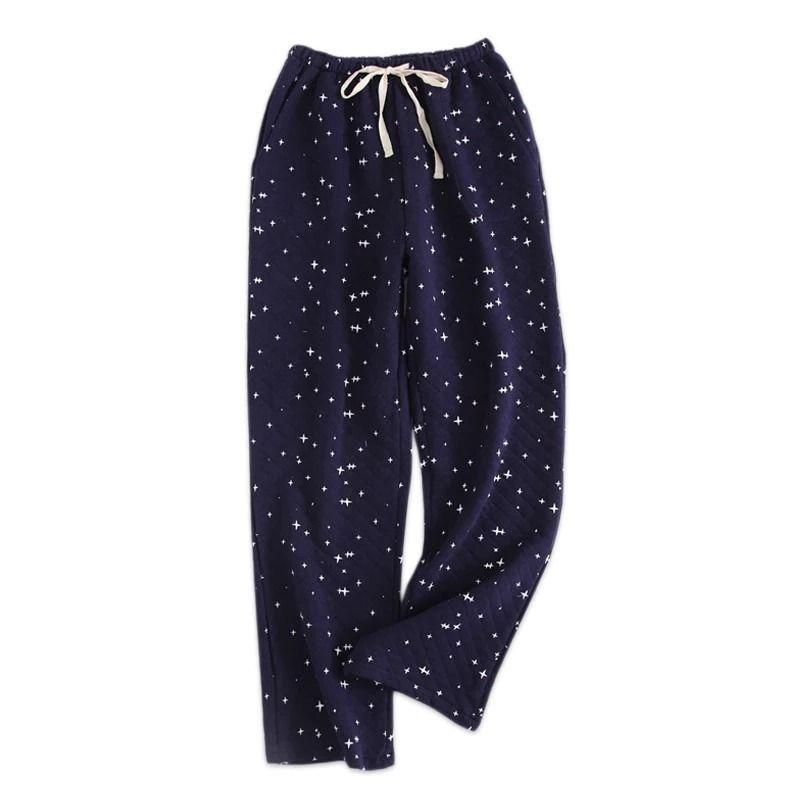 Men/'s Soft Breathable Lounge Pants Comfy Home Nightwear Sleep Pajamas Bottoms BL