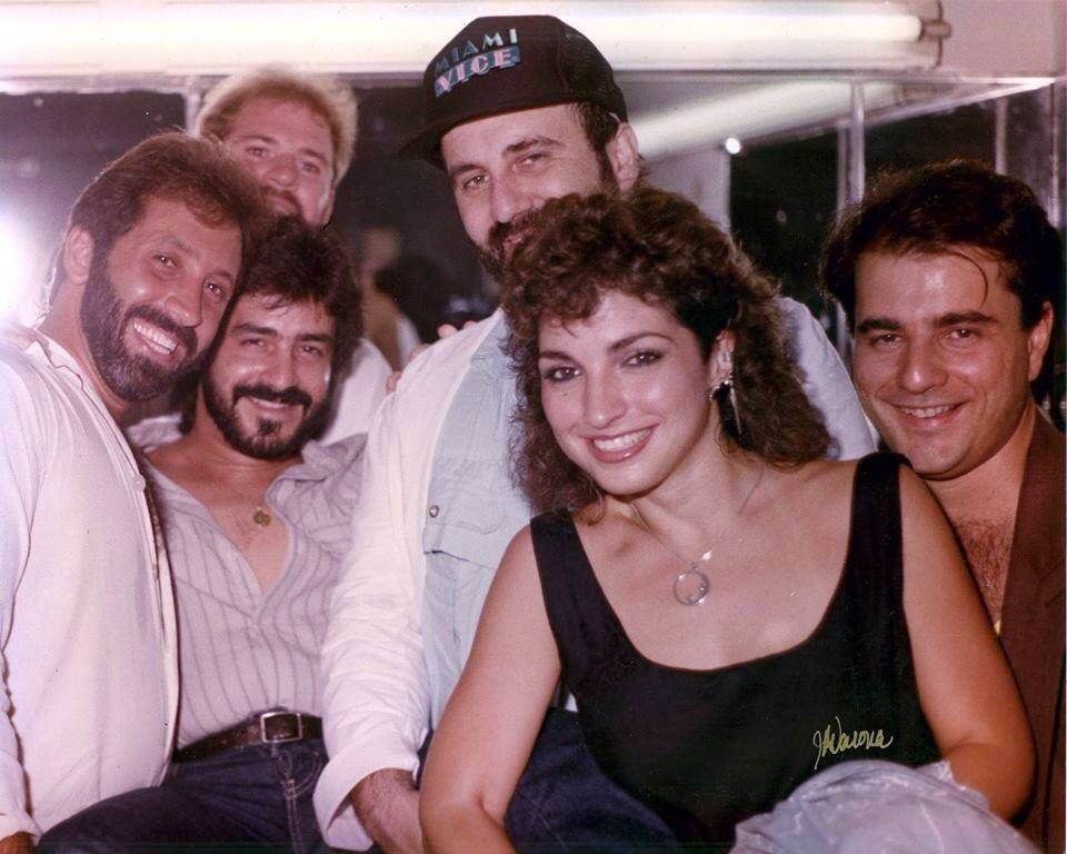 Young Gloria with her mates - Miami Sound Machine | Gloria ...