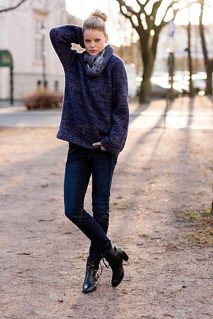 Boyfriend sweater pattern by Ann-Kristin Knardal | Libraries ...