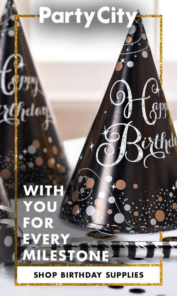 Shop Party City For Birthday Supplies